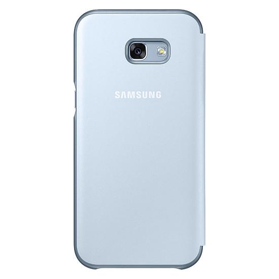Coque et housse Samsung Etui Flip neon (bleu) - Galaxy A3 2017 - Autre vue