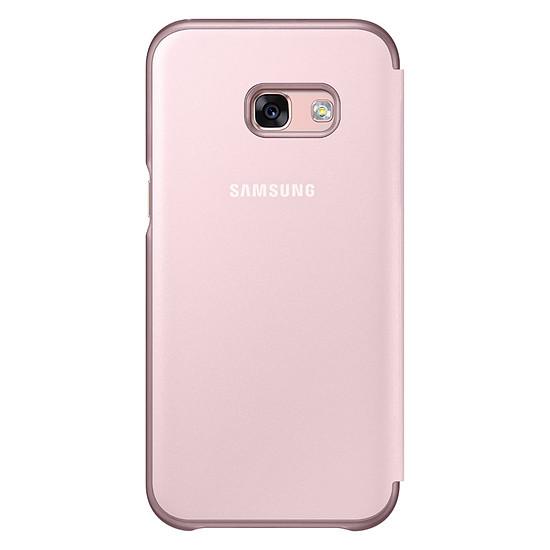 Coque et housse Samsung Etui Flip neon (rose) - Galaxy A3 2017 - Autre vue
