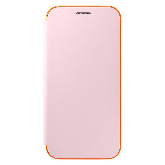 Coque et housse Samsung Etui Flip neon (rose) - Galaxy A5 2017