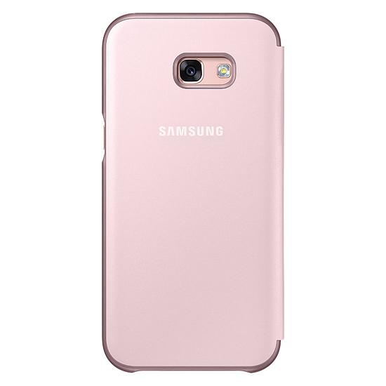 Coque et housse Samsung Etui Flip neon (rose) - Galaxy A5 2017 - Autre vue