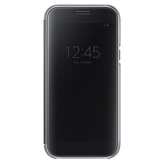 Coque et housse Samsung Etui Clear View Cover (noir) - Galaxy A5 2017
