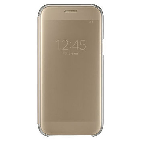 Coque et housse Samsung Etui Clear View Cover (or) - Galaxy A5 2017