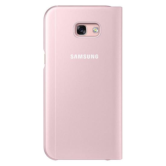 Coque et housse Samsung Etui S View Cover (rose) - Galaxy A5 2017 - Autre vue