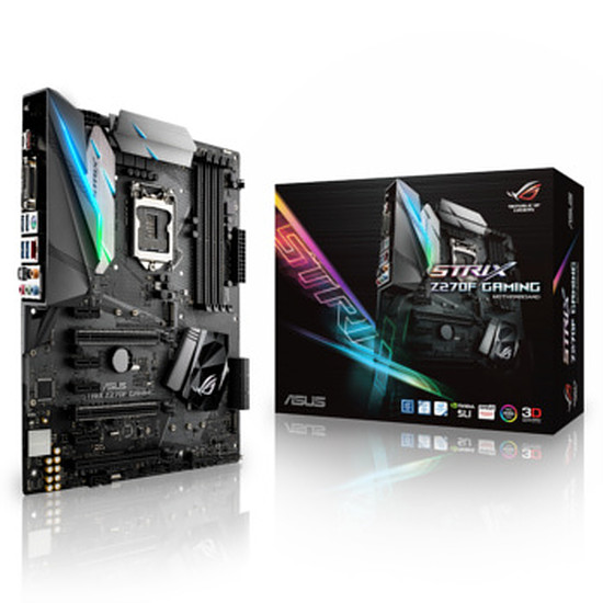 Carte mère Asus ROG - STRIX Z270F GAMING