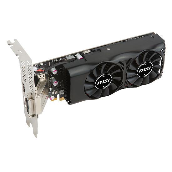 Carte graphique MSI GeForce GTX 1050 Ti 4GT LP - 4 Go - Autre vue