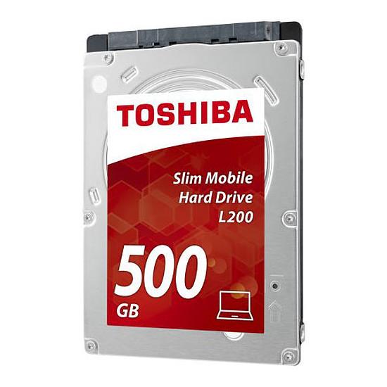 Disque dur interne Toshiba L200 Slim Mobile - 500 Go (7 mm)