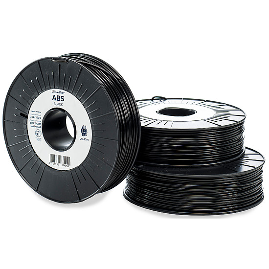Filament 3D Ultimaker ABS Noir - 2.85 mm - 750 g
