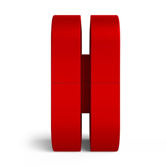 Accessoires casques et claviers NZXT Puck Rouge (BA-PUCKR-RD) - Autre vue