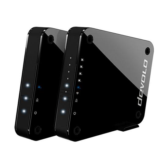 Point d'accès Wi-Fi Devolo GigaGate Starter Kit - Bridge Wi-Fi Multimédia
