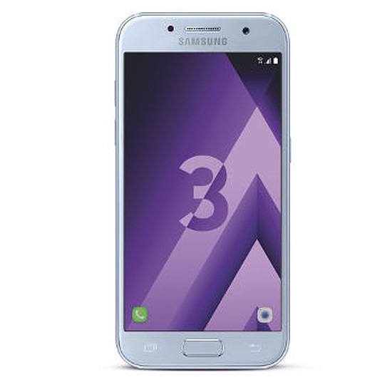 Smartphone et téléphone mobile Samsung Galaxy A3 2017 (bleu)