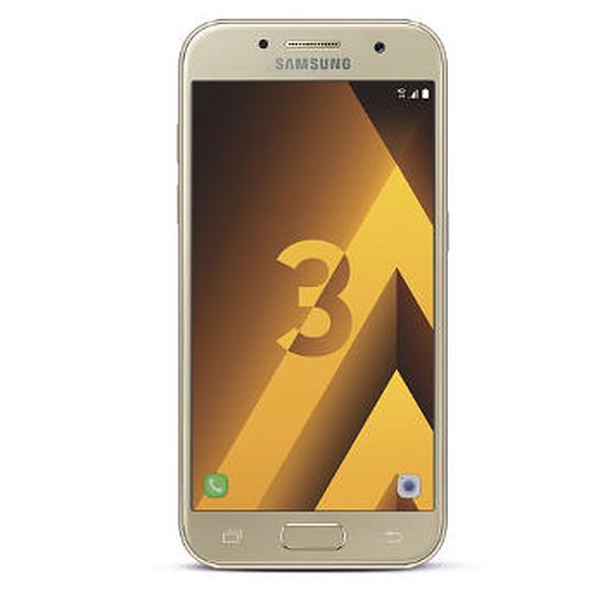Smartphone et téléphone mobile Samsung Galaxy A3 2017 (or) - 2 Go - 16 Go