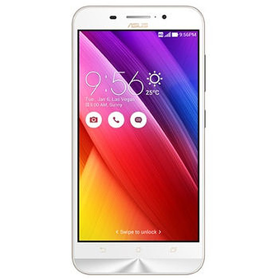 Smartphone et téléphone mobile Asus ZenFone Max ZC550KL (blanc)
