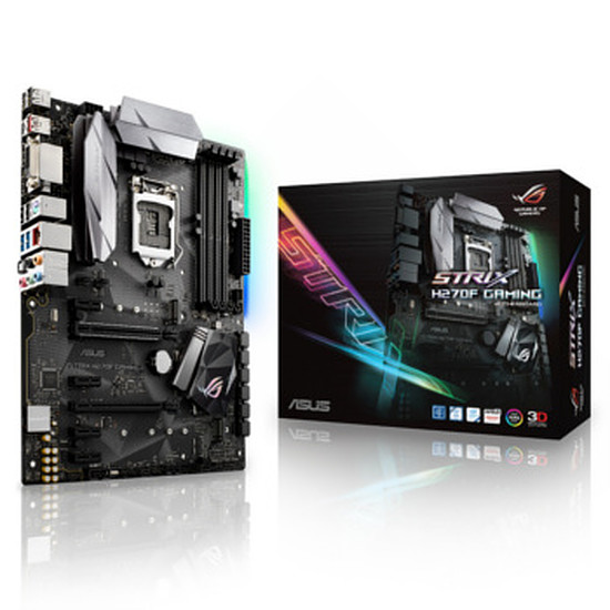 Carte mère Asus ROG - STRIX H270F GAMING