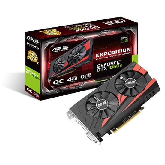 Carte graphique Asus GeForce GTX 1050 Ti OC eSports - 4 Go