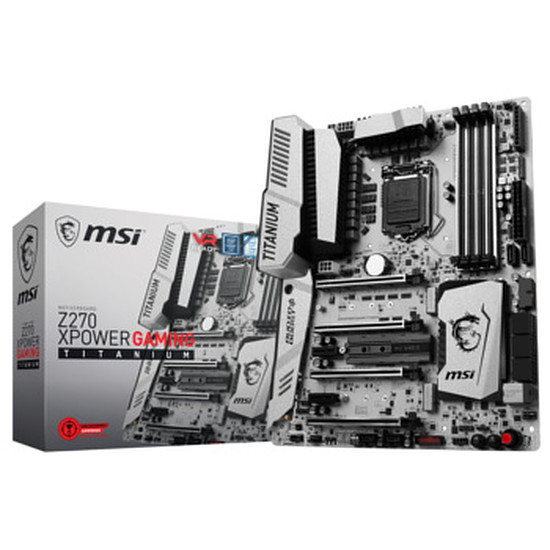Carte mère MSI Z270 XPOWER GAMING TITANIUM