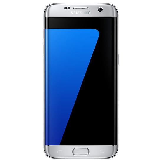 Smartphone et téléphone mobile Samsung Galaxy S7 Edge (argent) - 4 Go - 32 Go