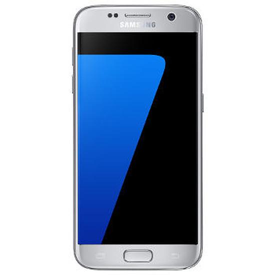 Smartphone et téléphone mobile Samsung Galaxy S7 (argent)