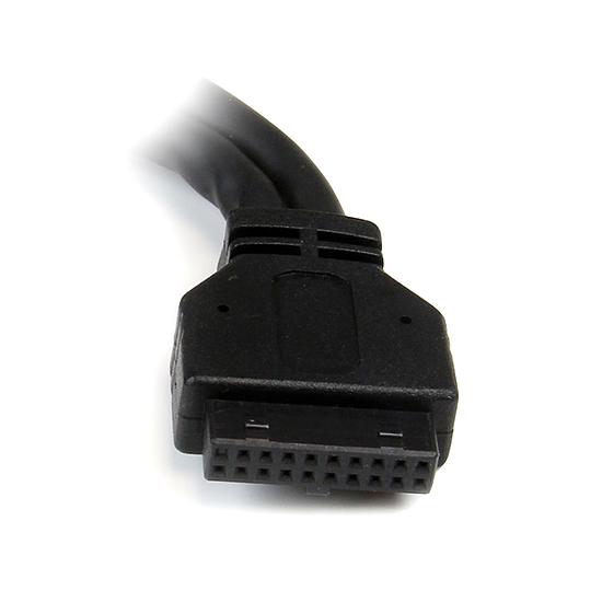 USB StarTech.com Adaptateur USB 3.0 interne / 2 USB 3.0 Type A  - Autre vue