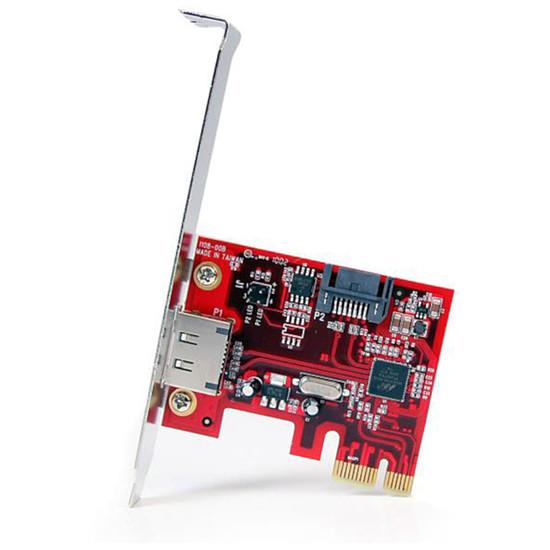 Serial ATA StarTech.com PCI-Express 1x vers 1 port eSATA / SATA (6 Gb/s)