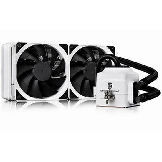 Watercooling Gamer Storm CAPTAIN 240 EX (BLANC)