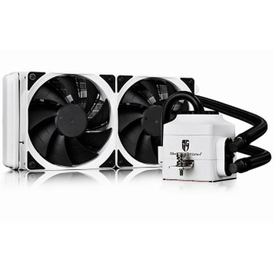 Refroidissement processeur DeepCool Gamer Storm Captain 240 EX V1 Blanc