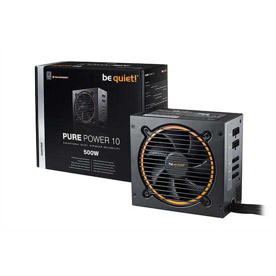 Alimentation PC Be Quiet Pure Power 10 CM - 500W - Autre vue