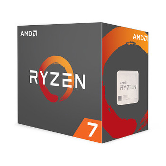 Processeur AMD Ryzen 7 1800X (3,6 GHz)