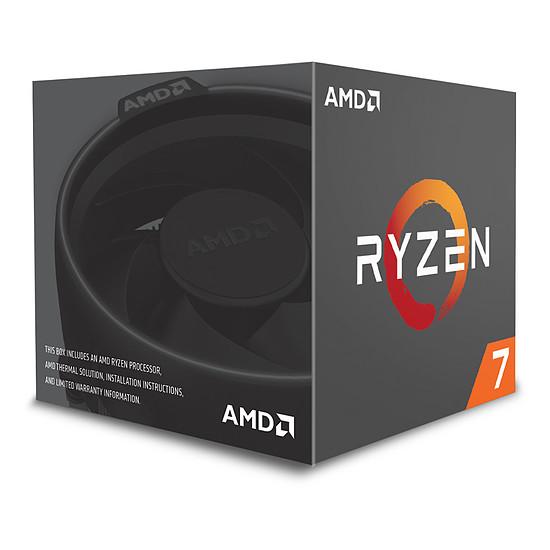 Processeur AMD Ryzen 7 1700 Wraith Spire Edition (3,0 GHz) - Autre vue