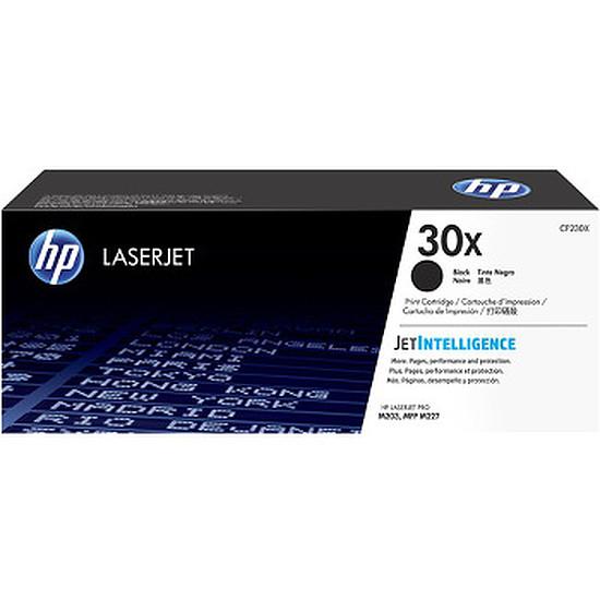 Toner imprimante HP 30X - CF230X Noir haute capacité