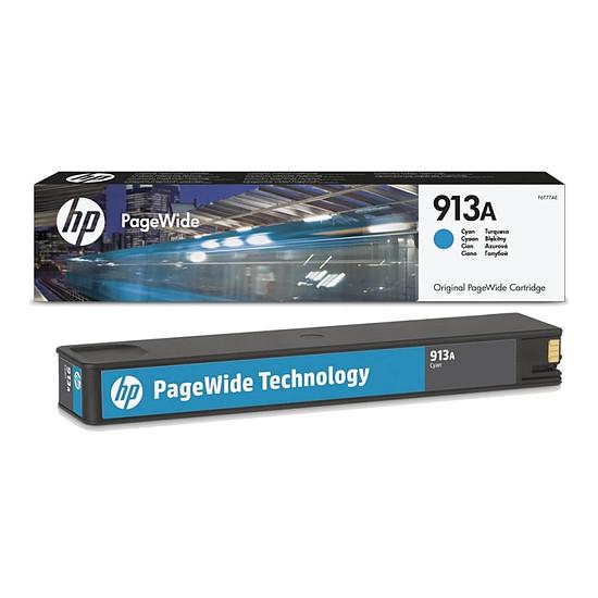 Cartouche imprimante HP n°913A - F6T77AE Cyan - Autre vue