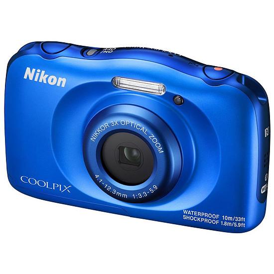 Appareil photo compact ou bridge Nikon Coolpix W100 Bleu