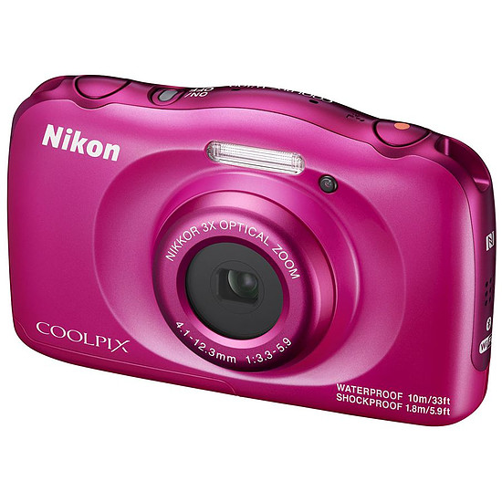 Appareil photo compact ou bridge Nikon Coolpix W100 Rose