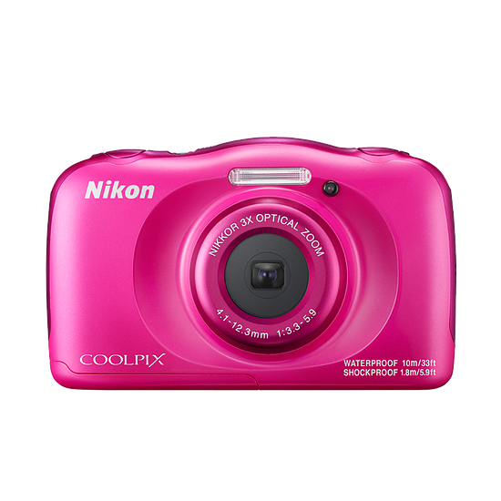 Appareil photo compact ou bridge Nikon Coolpix W100 Rose - Autre vue