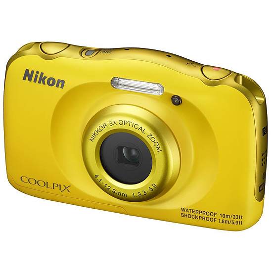 Appareil photo compact ou bridge Nikon Coolpix W100 Jaune