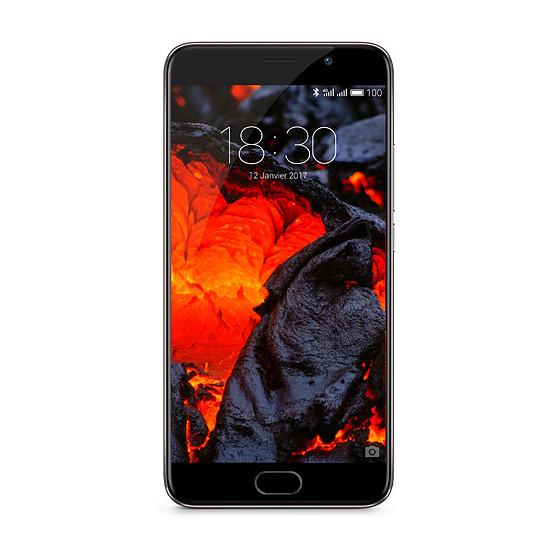 Smartphone et téléphone mobile Meizu Pro 6 Plus (gris - 64 Go)