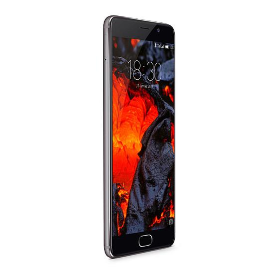 Smartphone et téléphone mobile Meizu Pro 6 Plus (gris - 64 Go) - Autre vue