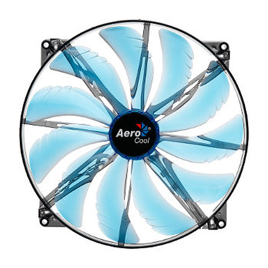 Ventilateur Boîtier Aerocool Silent Master Blue Led - 200 mm