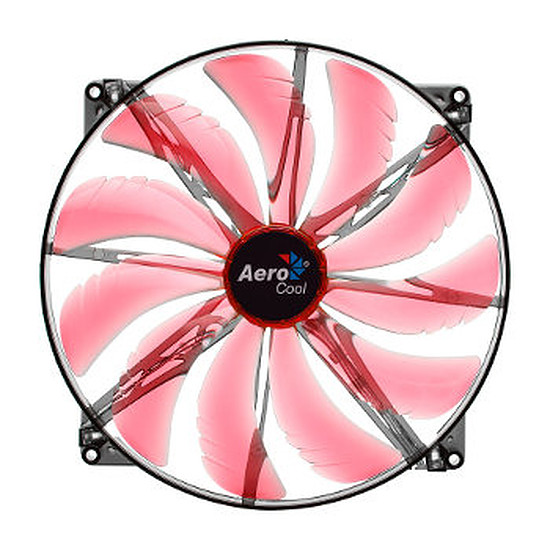 Ventilateur Boîtier Aerocool Silent Master Red Led - 200 mm
