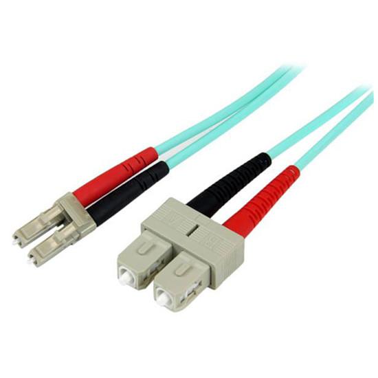 Câble fibre Optique StarTech.com Câble fibre optique LC/SC LSZH duplex 50/125 - 2 m