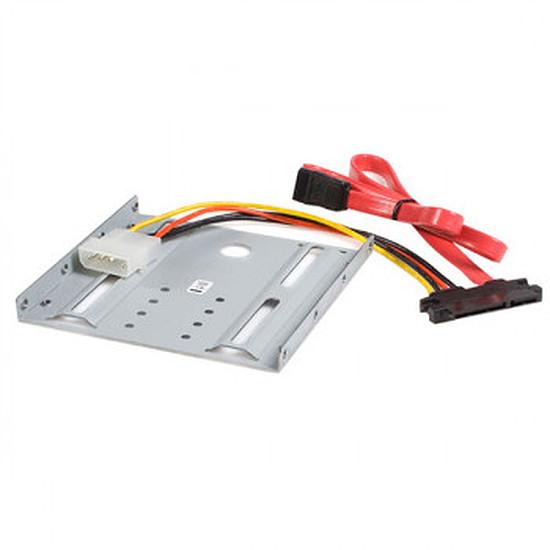 """Rack disque dur interne StarTech.com Kit de Montage pour Disque Dur SATA ou SSD 2.5"""""""