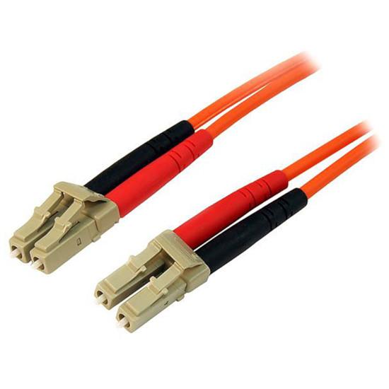 Câble fibre Optique StarTech.com Câble fibre optique LC/LC duplex 62,5/125 - 5 m