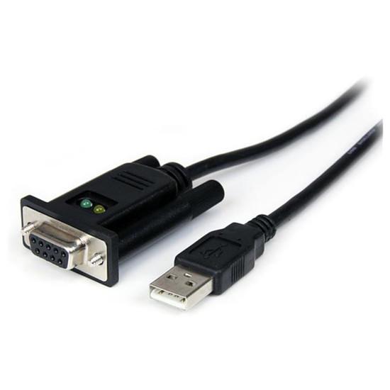 USB StarTech.com Câble DCE USB 2.0 (A) / DB9 (série RS232) - 1m