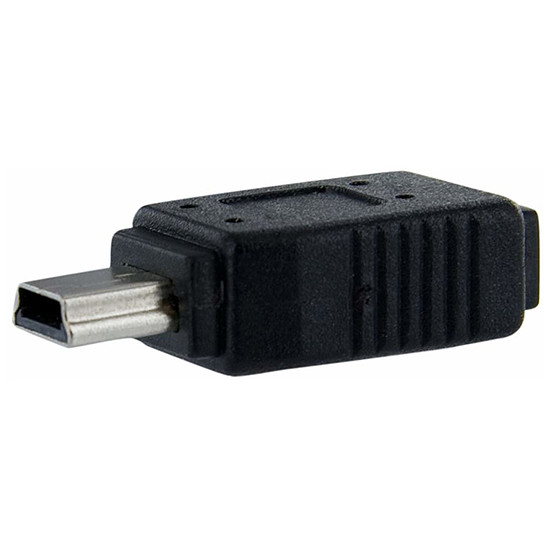 USB StarTech.com Adaptateur Micro USB / Mini USB 2.0