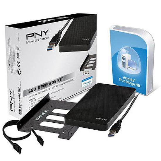 """Disque SSD PNY Kit de mise à niveau SSD + Acronis (boitier 2,5"""")"""