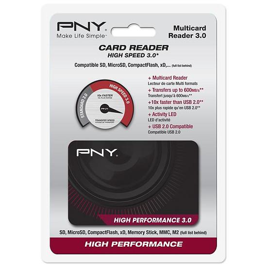 Lecteur de carte mémoire PNY Lecteur de cartes High Performance 3.0 - Autre vue