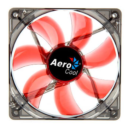 Ventilateur Boîtier Aerocool Lightning LED Rouge - 120 mm