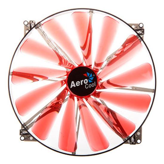 Ventilateur Boîtier Aerocool Lightning LED Rouge - 200 mm