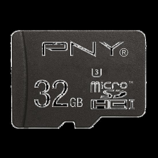 Carte mémoire PNY Elite Performance micro SDHC 32 Go (100Mo/s) - Autre vue