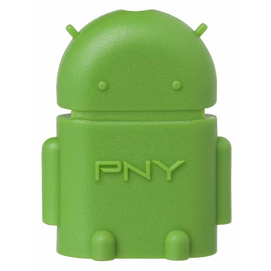 USB PNY Adaptateur Robot - OTG micro USB / USB