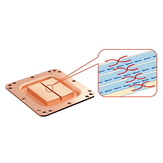 Refroidissement processeur Lepa AquaChanger 240 - LPWAC240-HF - Autre vue